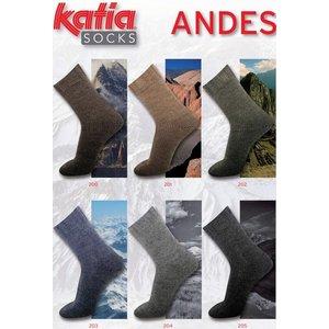 Katia Andes Socks lichtgrijs (204)