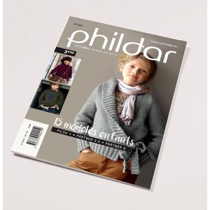 Phildar Mini catalogus 651 kinderen winter/herfst 2016/17