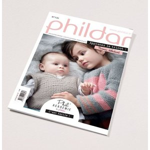 Phildar Kinder catalogus 136 herfst/winter 2016/2017