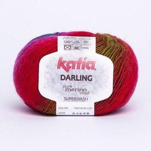 Katia Darling fuchsia/pistache/paars (208)