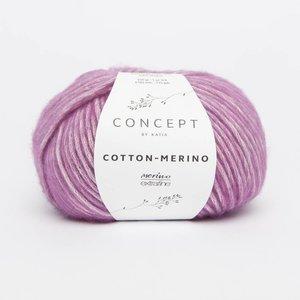 Katia Cotton-Merino   117  medium paars  op=op