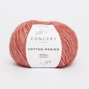 Katia Cotton-Merino medium oranje (120)