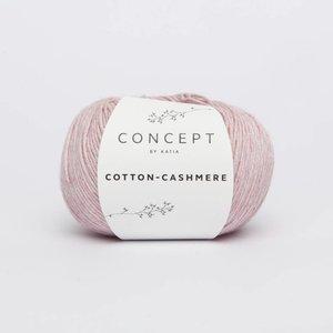 Katia Cotton cashmere  50  bleekrood