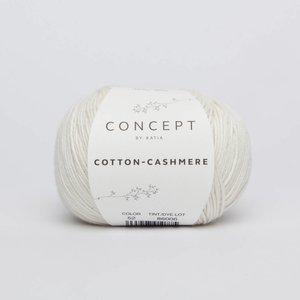 Katia Cotton cashmere  52  wit