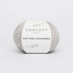 Katia Cotton cashmere  56  steengrijs