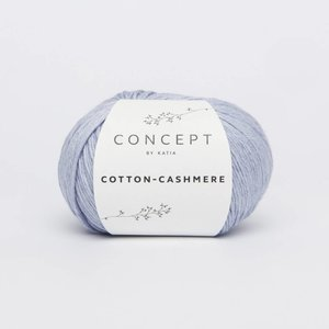 Katia Cotton cashmere  58  licht jeans