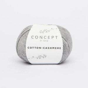 Katia Cotton cashmere  59  grijs