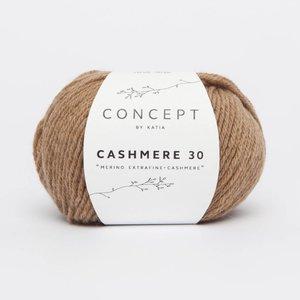 Katia Cashmere 30  206  camel