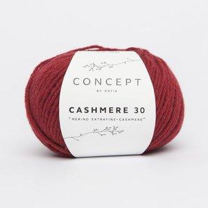 Katia Cashmere 30  208  rood