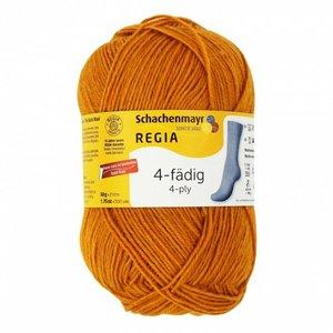 Schachenmayer Regia sokkenwol 4 draads 2746  gold meliert