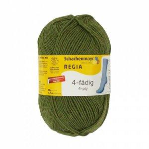 Schachenmayer Regia sokkenwol 4 draads 2744  laub meliert