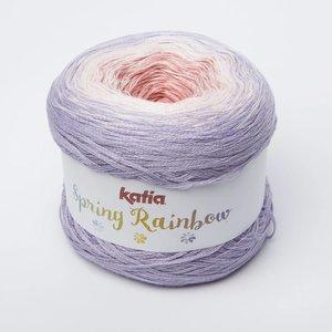 Katia Spring Rainbow  53  paars/roze/bleekrood