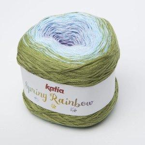 Katia Spring Rainbow 55 groen/blauw/lila op = op