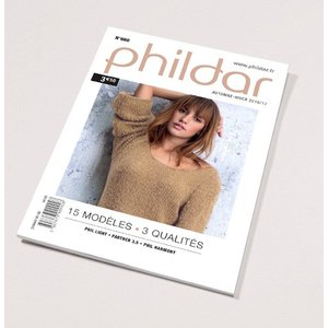 Phildar Mini catalogus    660 Dames herfst/winter 2016/2017