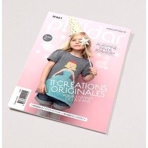 Phildar Mini catalogus    661 kinderen herfst/winter 2016/17