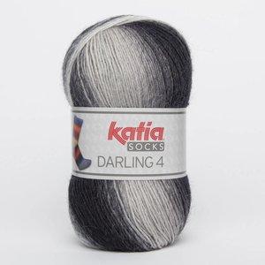Katia Darling 4 socks 60 grijs