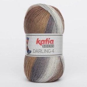 Katia Darling 4 socks 61 bruin