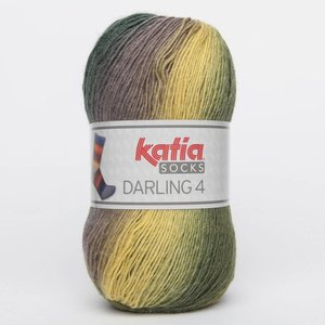 Katia Darling 4 socks 63 groen