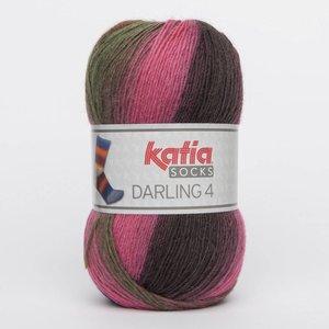 Katia Darling 4 socks 64 roze
