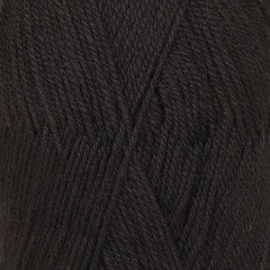 Drops Flora 06 uni zwart