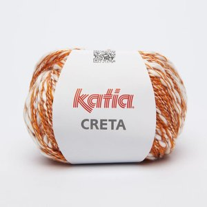 Katia Creta 76 Oranje / Ecru op=op