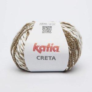 Katia Creta 74 Donkerbeige / Ecru