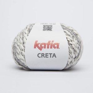 Katia Creta 70 Wit / Blauwgrijs