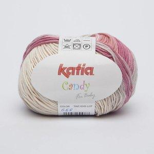 Katia Candy 668 Lichtroze - Bleekrood - Beige