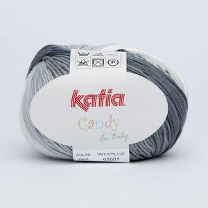 Katia Candy 662 Grijs - Wit