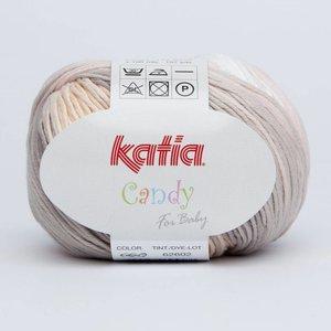 Katia Candy 660 Wit-Bleekrood-Bruin-Grijs-Oranje