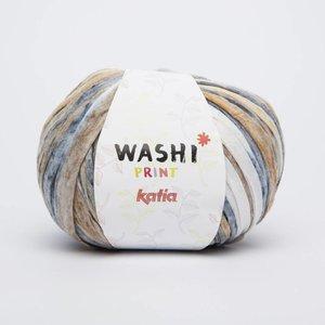 Katia Washi print 311 wit/beige/jeans