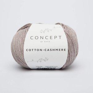 Katia Cotton cashmere 63 Sepia bruin