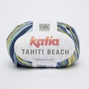 Katia Tahiti Beach 317 blauw/groen/geel op=op