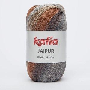 Katia Jaipur zwart/grijs/oranje/beige (251)