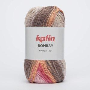 Katia Bombay koraal/oranje/bruin (2029)