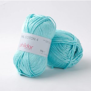 Phildar Phil Coton 4 Cyan (101)