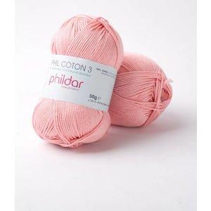 Phildar Phil Coton 3 Rose Saumon (93)