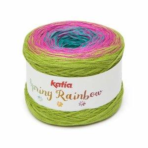 Katia Spring Rainbow Turquoise/Fuchsia/Pistache (62)