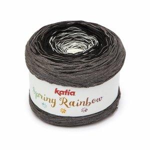 Katia Spring Rainbow Wit/Zwart/Grijs (58) op = op