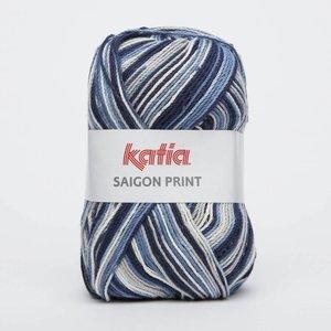 Katia Saigon Print 81 jeans