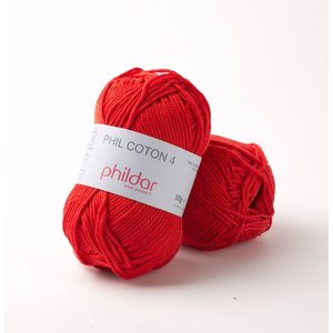 Phildar Phil Coton 4 Cerise (50)