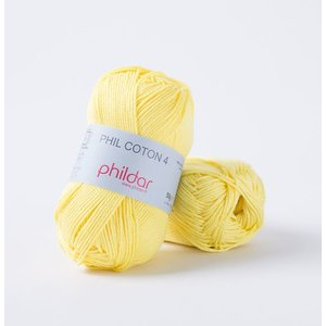 Phildar Phil Coton 4 Citron (63)