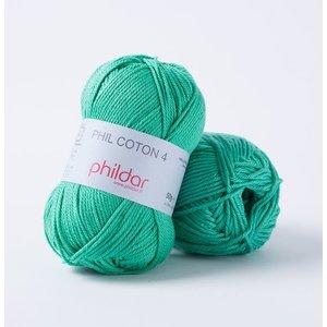 Phildar Phil Coton 4 Menthe (59) op=op