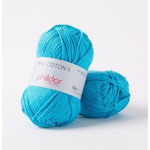 Phildar Phil Coton 4 Turquoise (41)