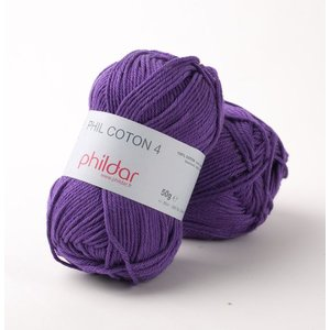 Phildar Phil Coton 4 Violet (38)