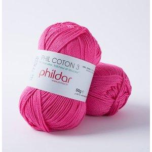 Phildar Phil Coton 3 Oeillet (34)