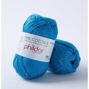 Phildar Phil Coton 3 Pacifique (60) op=op