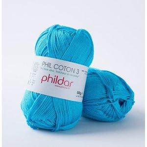 Phildar Phil Coton 3 Turquoise (41)