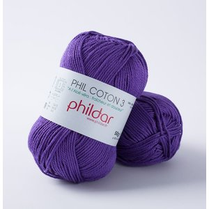 Phildar Phil Coton 3 Violet (38)