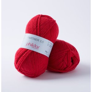 Phildar Partner 3,5 Rouge (84)